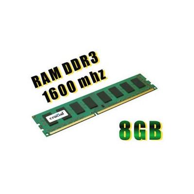 DIMM DDR3 8GB 1600MHZ