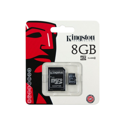 8GB MICRO SD  HC CARD CL