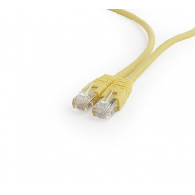 UTP Cat6 Patch cord, 0.5 m, yellow
